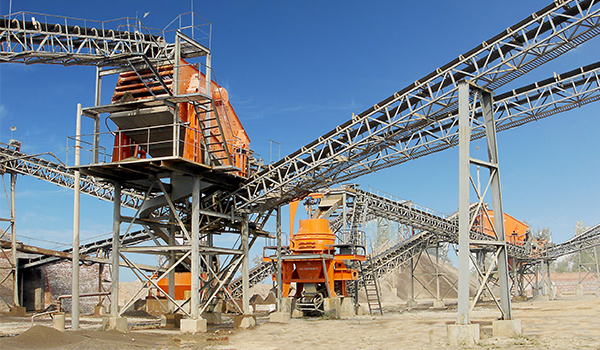 mechanism sand making production line