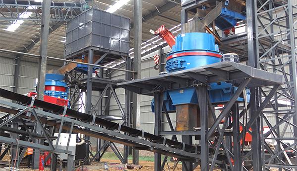 sand maker crusher for granite crushing