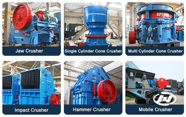 concrete crusher stone crushing machine
