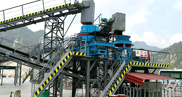 vertical shaft sand crusher factory price