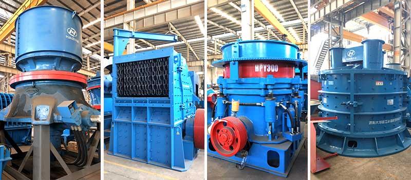 secondary crusher machine