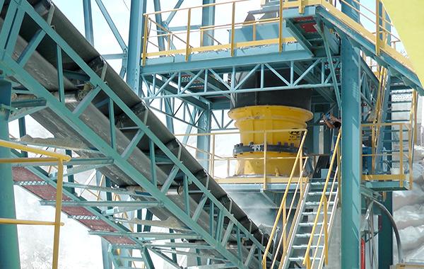 iron ore crusher machine