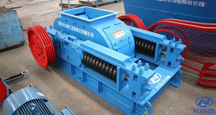 double toothed roller crusher