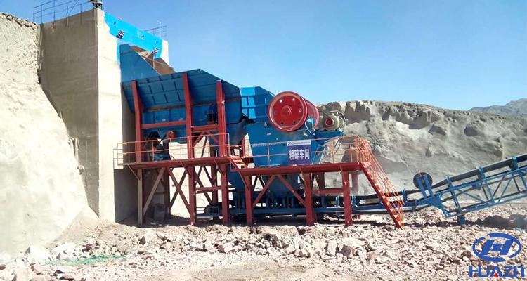 stone jaw crusher machine