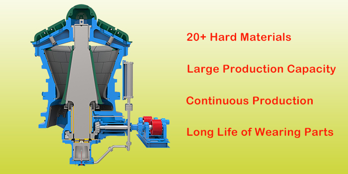 gyratory crusher application