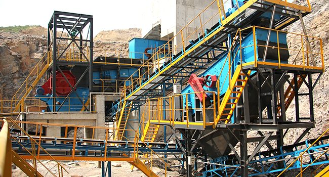 jaw crusher with vibrating screen