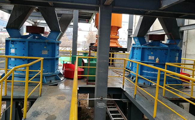 pfl compact crusher sand making machine