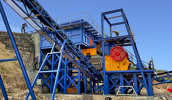 small crusher machine plant