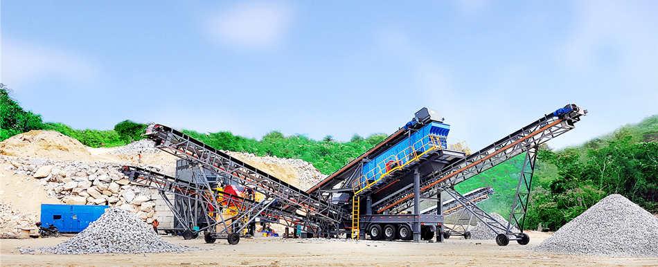 mobile crushing plant for granite crushing in Malaysia