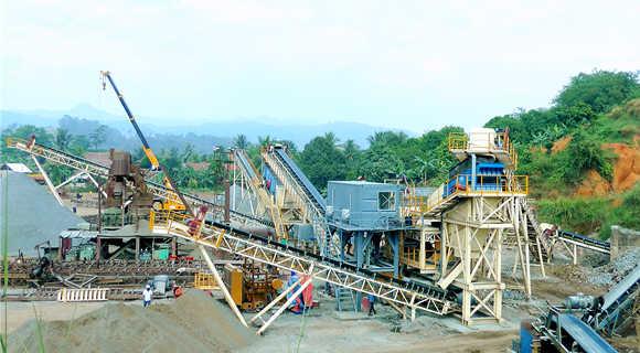 800t/h Granite Crushing Plant  in Malaysia