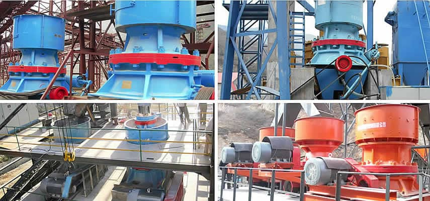 AF Series Hydraulic Cone Crusher Application
