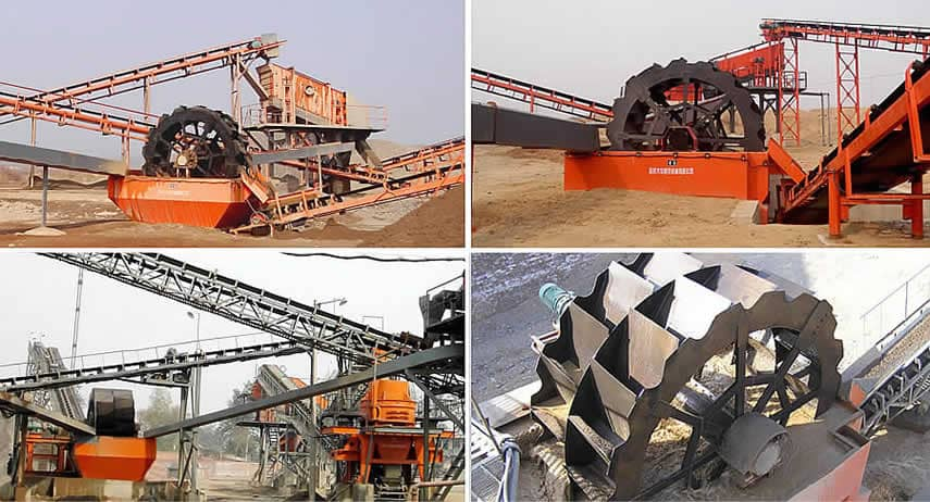 Bucket-wheel Sand Washer Application