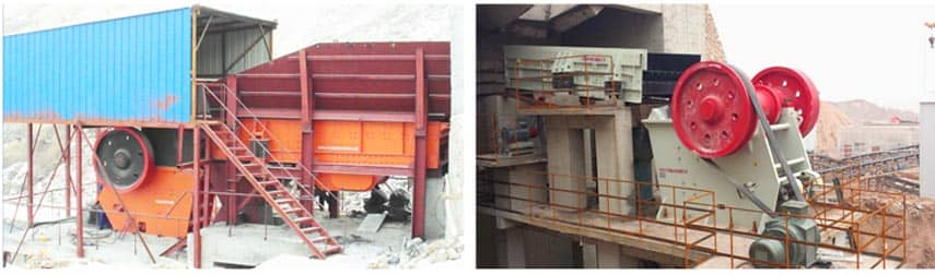 C Series Jaw Crusher Application