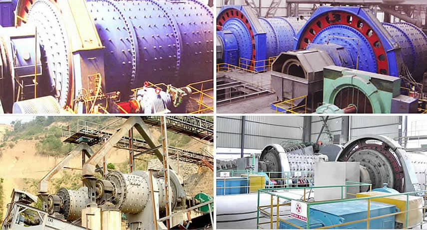 Energy-efficient Ball Mill Application