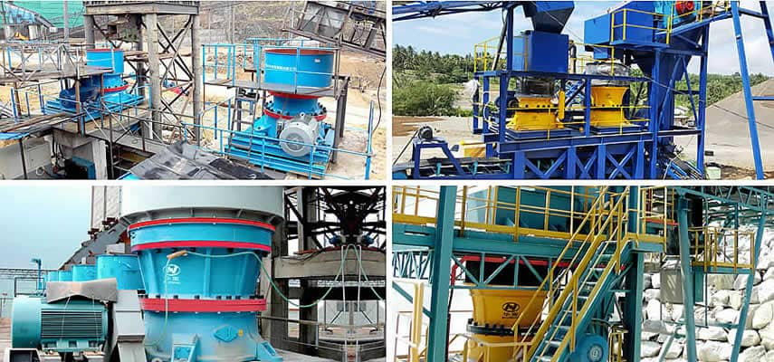 GPY Series High-Efficient Hydraulic Cone Crusher Application