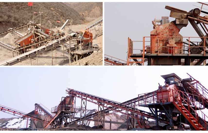 ISP Strong Fine Impact Crusher Application