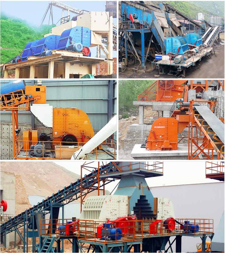 PFQ Series Vortex Strong Impact Crusher Application