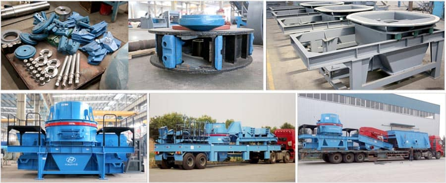 PLS Series Vertical Impact Crusher Assembling